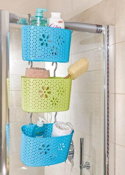 Košíky do sprchového koutu