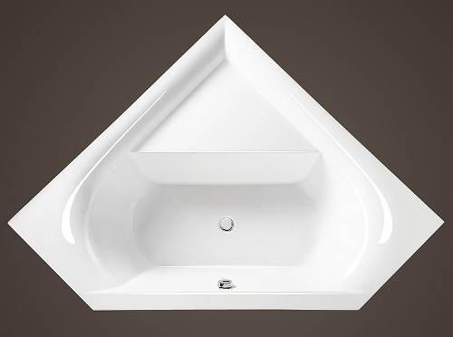 Akrylátová koupelnová vana Stema 150x150 cm