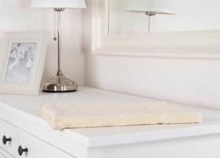 Béžová koupelnová předložka 50x70 cm