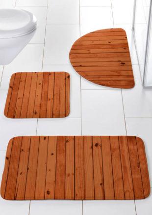 Kopelnové předložky imitace dřeva