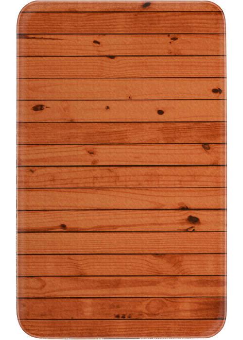 Koupelnová ppředložka fototisk dřevo