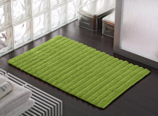 Koupelnová předložka vhodná pro podlahové vytápění