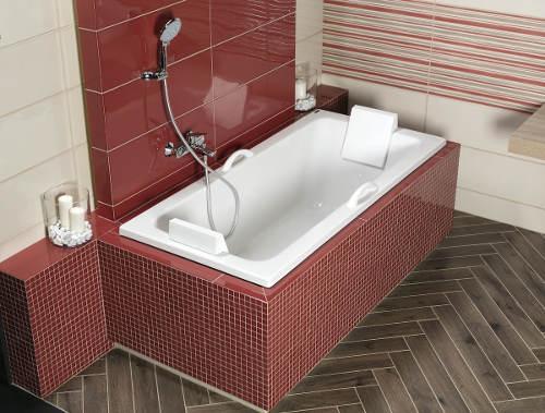 Koupelnová vana odolná proti poškrábání