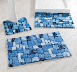Mozaiková koupelnová předložka