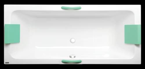 Obdélníková vana Laguna s možností dovybavení masážním systémem