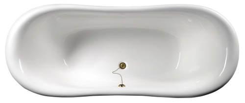 Ovalná volně stojící vana