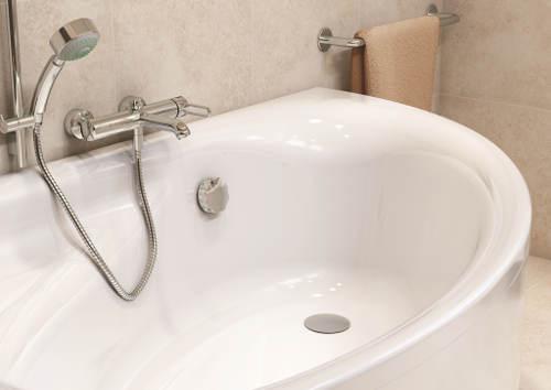 Praktická koupelnová vana