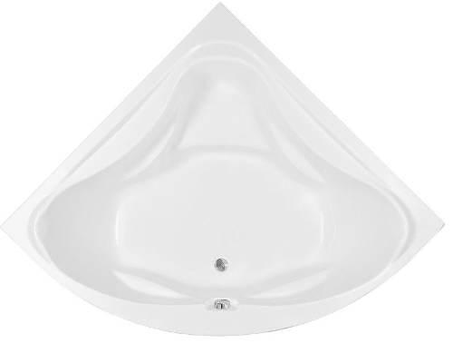 Rohová symetrická vana DUNAJ do větších koupelen