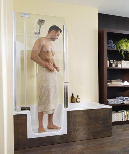 Vana a sprcha v jednom