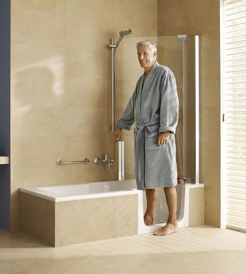 Vana a sprchový kout pro seniory