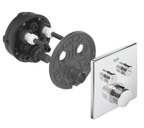 Moderní podomítková koupelnová baterie