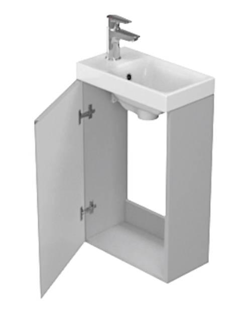 Podumyvadlová skříňka do malé koupelny