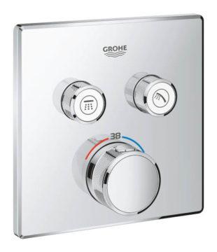 Sprchová podomítková termostatická baterie Grohe SmartControl