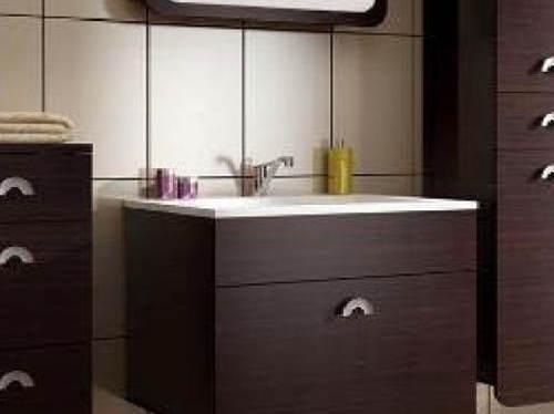 Wenge koupelnový nábytek s umyvadlem