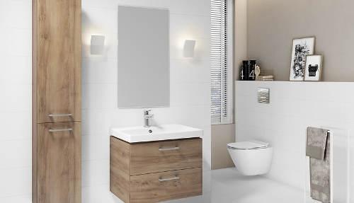 Koupelna v přírodním stylu