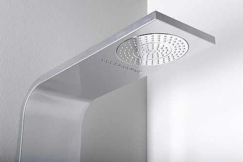 Hlavová sprcha sprchového panelu s několika režimy