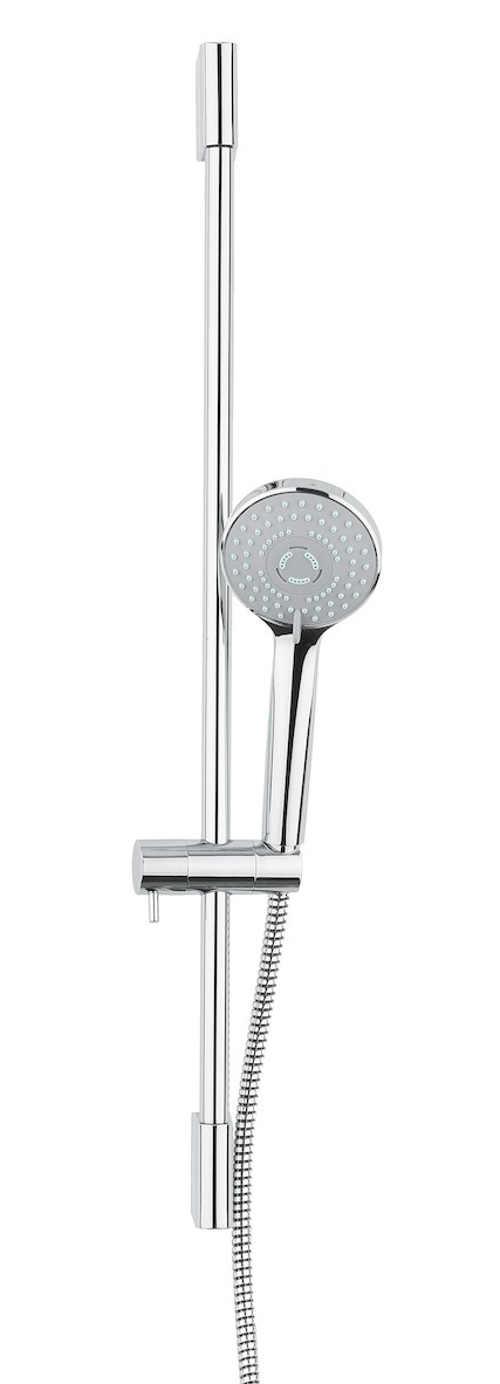 Ruční hlavice sprchového setu se třemi druhy proudů