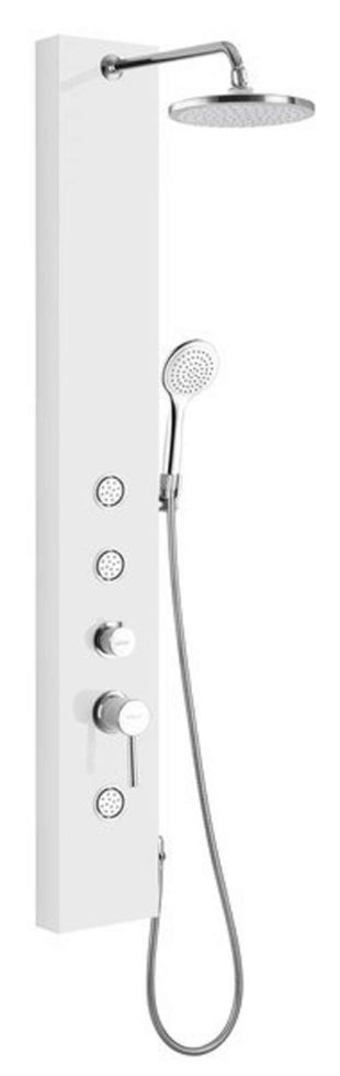 Levný masážní sprchový panel AQUALINE - DIVA