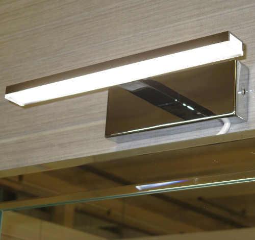 Obdélníkové LED světlo do koupelny