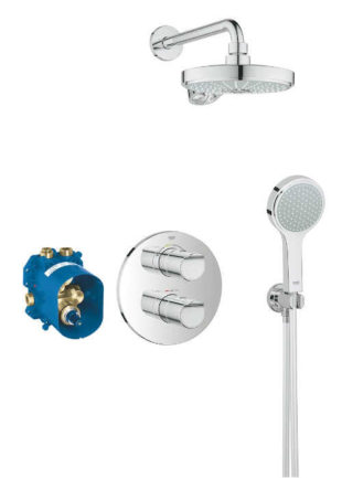Podomítkový sprchový set Grohe Grohtherm 2000 s termostatickou baterií