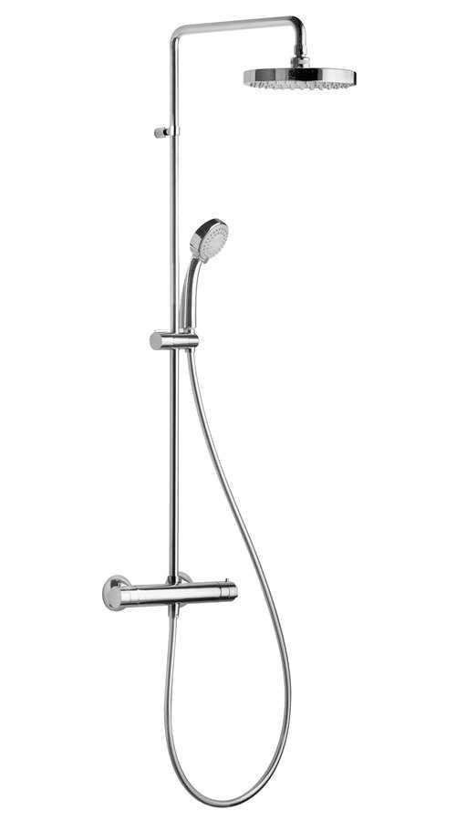 Sprchový sloup s termostatickou baterií SAPHO - BASIC