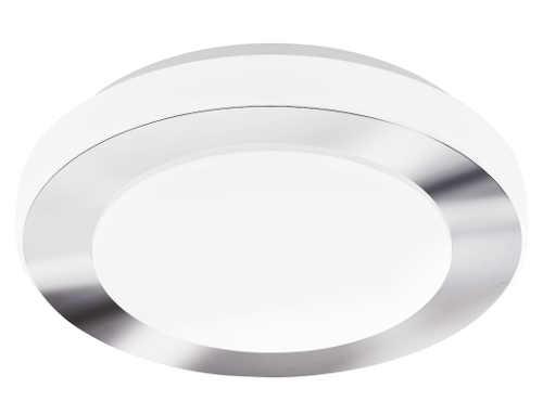 LED nástěnné/stropní svítidlo s bezproblémovým použití ve vlhkém prostředí koupelny