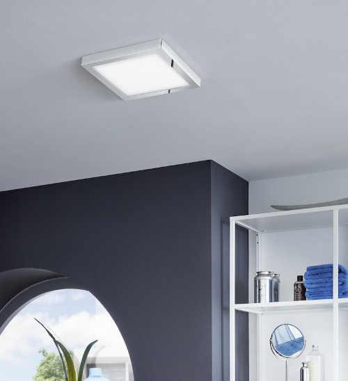 Stropní LED světlo vhodné do vlhkých prostor