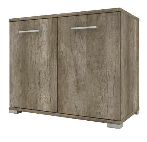 Dvoukřídlá dřevěná skříňka pod umyvadlo