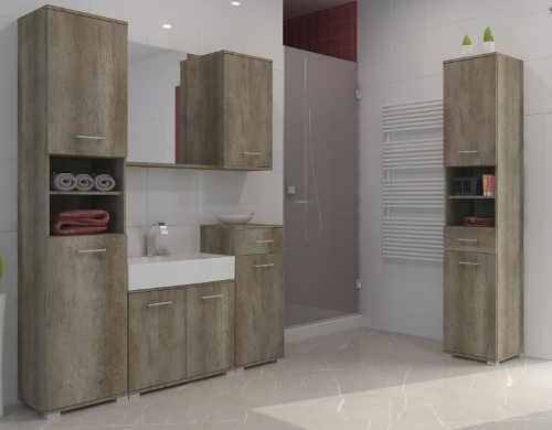 Koupelnový nábytek dub canyon