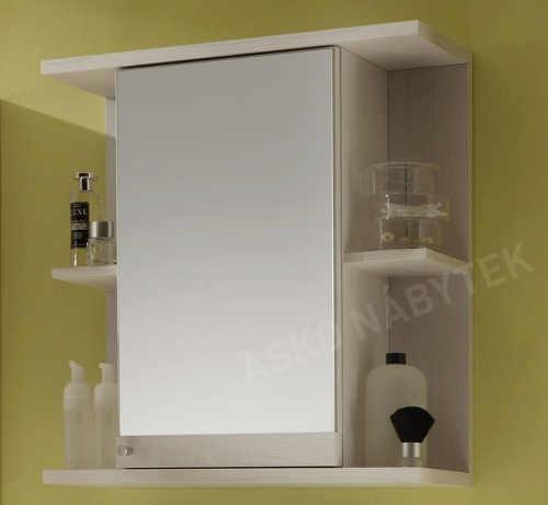 Koupelnová skříňka galerka s boční otevřenými poličkami