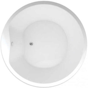 Kruhová koupelnová vana TEIKO SPACE 160