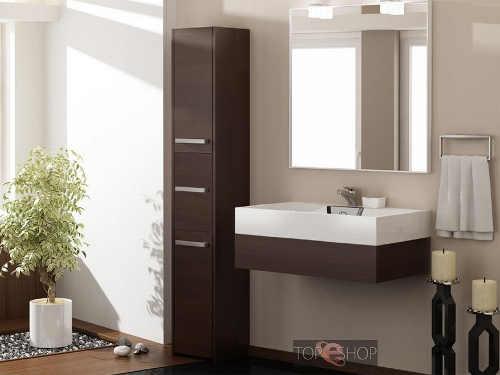 Levný koupelnový nábytek wenge