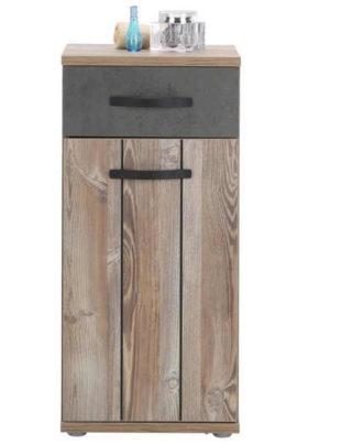 Koupelnová skříňka v dekoru borovice