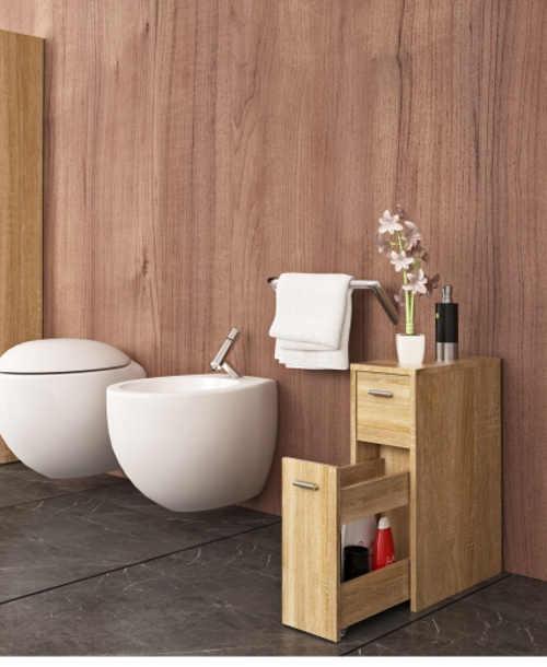 Koupelnová skříňka v dekoru dub sonoma