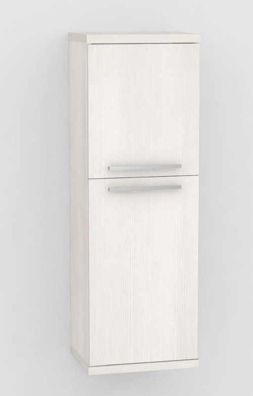 Nástěnná skříňka s integrovaným košem na prádlo
