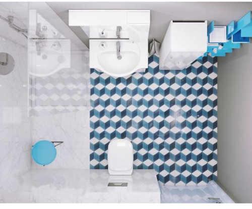 Praktický koupelnový set v bílém provedení