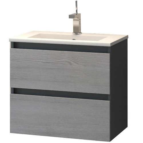 Závěsná skříňka s umyvadlem do koupelny