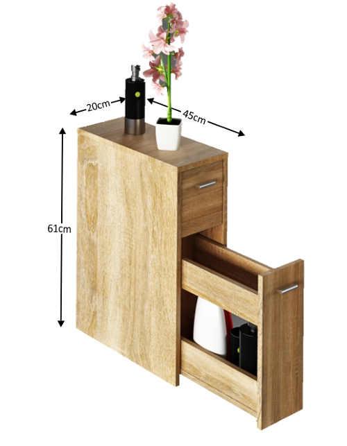 moderní skříňka do malého prostoru