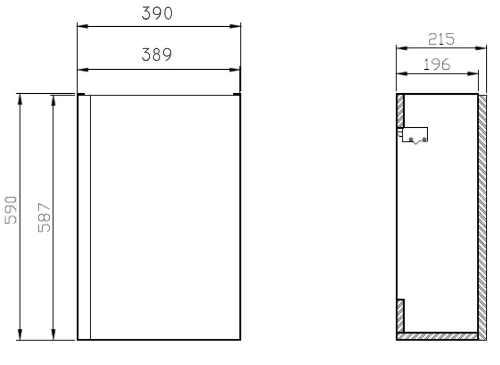 Moderní set do koupelny v bílém provedení