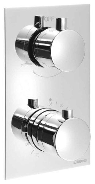 Podomítková sprchová termostatická baterie