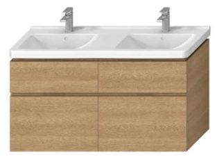 Závěsná koupelnová skříňka pod umyvadlo