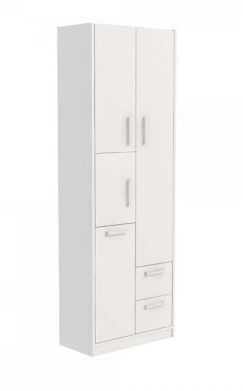 vyšší koupelnová praktická skříň