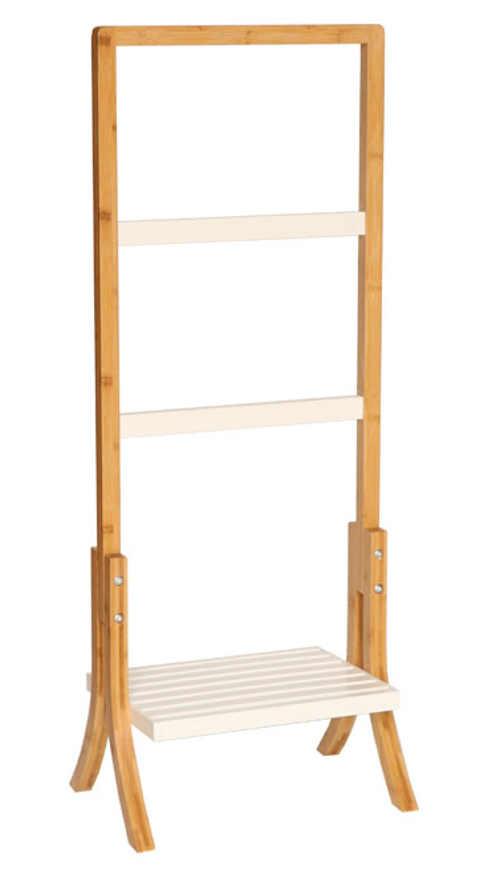 Dřevěný stojan na ručníky a osušky TENS