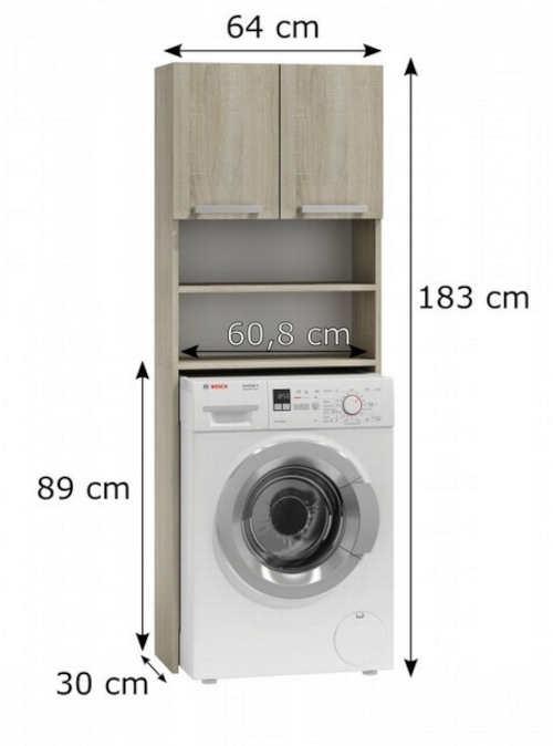 Koupelnový nábytek pro zabudování pračky