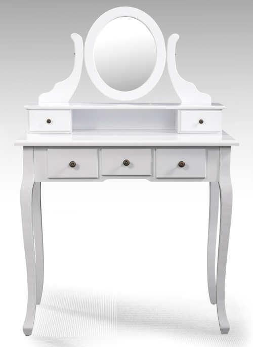 Romantický toaletní stolek se zrcadlem STELLA