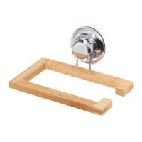 Praktický nástěnný držák z bambusu