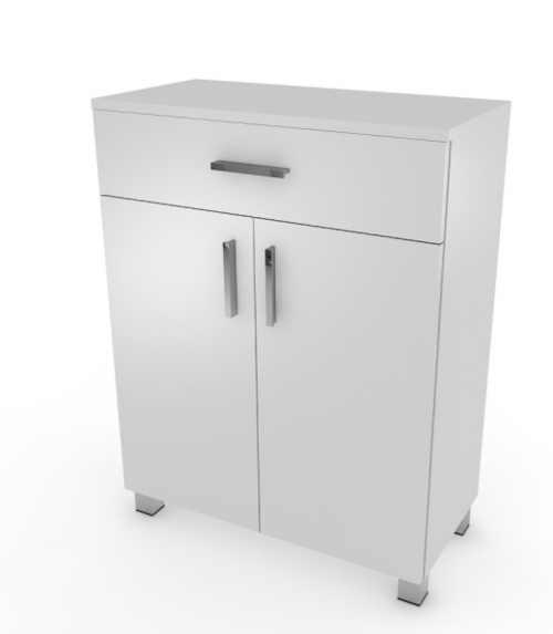 Nízká koupelnová skříňka v moderním dekoru