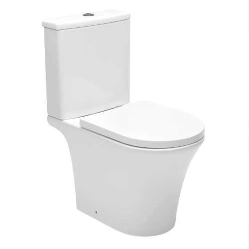 Stojící WC s nádržkou a prkénkem