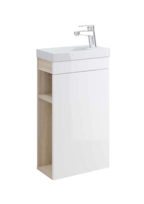 koupelnové keramické bílé umyvadlo