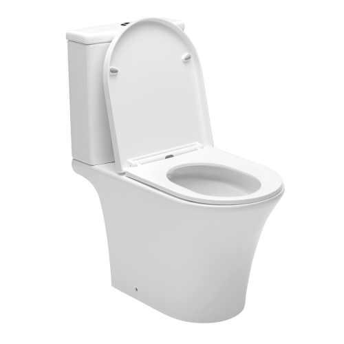 moderní WC kombi bílé